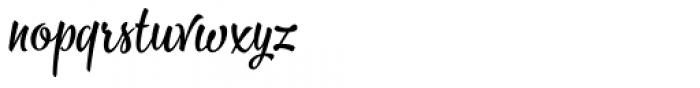 Bayamo Regular Font LOWERCASE