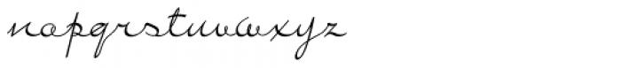 Bayern Handschrift NF Font LOWERCASE