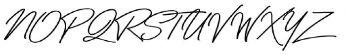 Bayshore Font UPPERCASE
