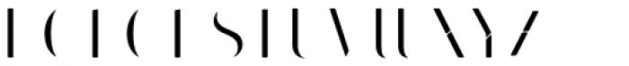 Bazaruto Iron Fill Font UPPERCASE