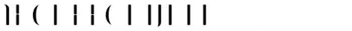Bazaruto Iron Fill Font LOWERCASE
