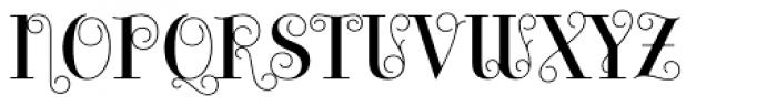 Bazaruto Iron Solid Font UPPERCASE