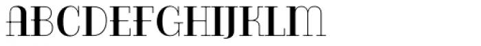 Bazaruto Iron Solid Font LOWERCASE