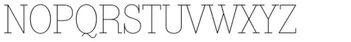 Bazaruto Text Monoline Font UPPERCASE