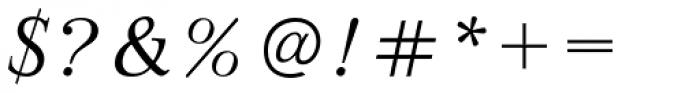 Bazhanov Italic Font OTHER CHARS