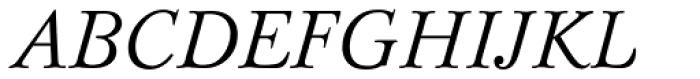 Bazhanov Italic Font UPPERCASE