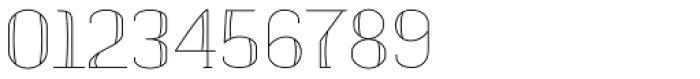banister Light SemiCondensed Font OTHER CHARS