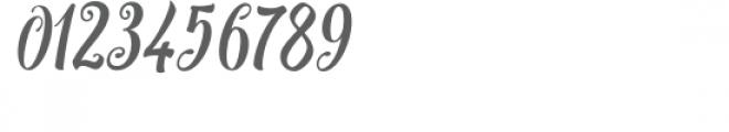 Bargain Script Font OTHER CHARS