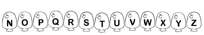 BB Balloons Font UPPERCASE