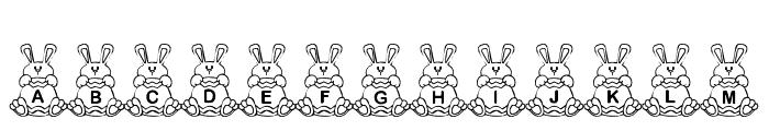 BB EasterEggs Font LOWERCASE