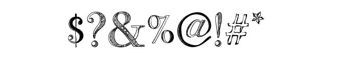 BB Petie Boy Medium Font OTHER CHARS