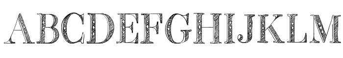BB Petie Boy Medium Font UPPERCASE