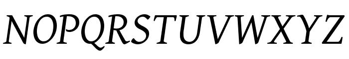 BBT-Italic Font UPPERCASE