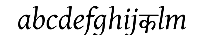 BBT-Italic Font LOWERCASE