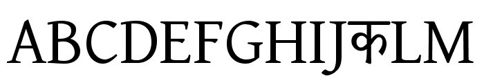 BBT Font UPPERCASE