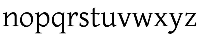 BBT Font LOWERCASE