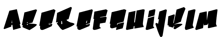 Bboy Font LOWERCASE