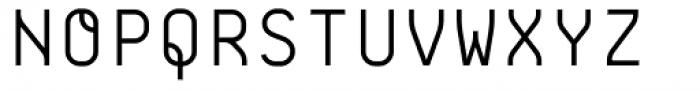 BB Roller Mono Pro Headline Semi Regular Font UPPERCASE