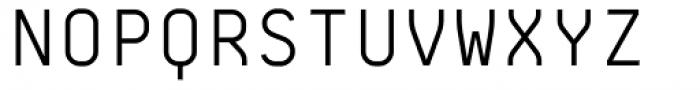 BB Roller Mono Pro Standard Semi Regular Font UPPERCASE