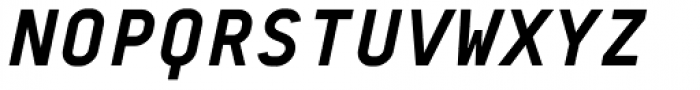 BB Roller Mono Pro Text Bold Italic Font UPPERCASE