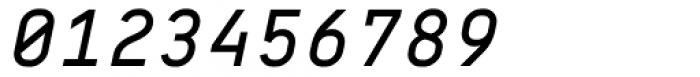 BB Roller Mono Pro Text Semi Medium Italic Font OTHER CHARS