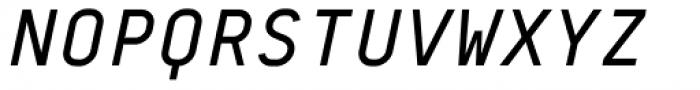 BB Roller Mono Pro Text Semi Medium Italic Font UPPERCASE