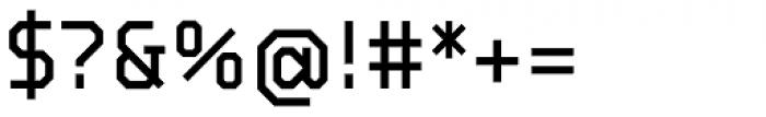BB Strata Pro Monoline Semi Medium Font OTHER CHARS