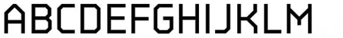 BB Strata Pro Monoline Semi Medium Font UPPERCASE
