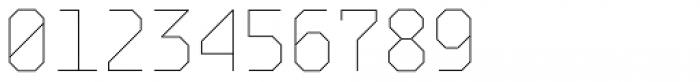 BB Strata Pro Monoline Skeleton Font OTHER CHARS