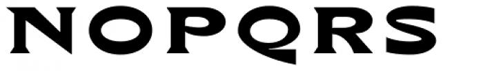 bb-book A Bold Font UPPERCASE