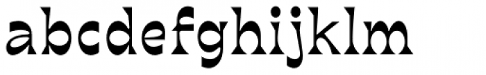 bb-book B Regular Font LOWERCASE