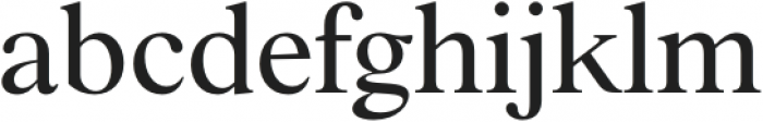 BD Megalona Regular otf (400) Font LOWERCASE