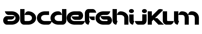 BD Bankwell Font LOWERCASE