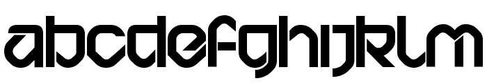 BD Bardust Font LOWERCASE
