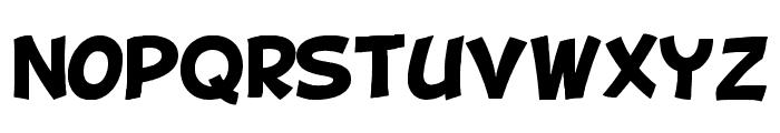 BD Cartoon Shout Font LOWERCASE