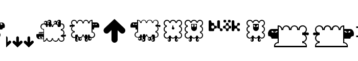 BD Flossy Font LOWERCASE