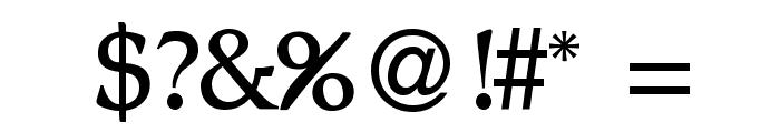 BD Renaissance Font OTHER CHARS