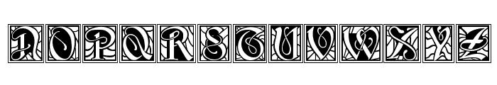 BD Renaissance Font UPPERCASE
