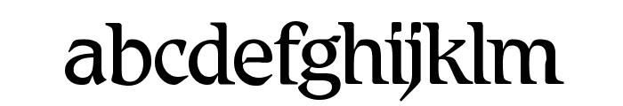 BD Renaissance Font LOWERCASE
