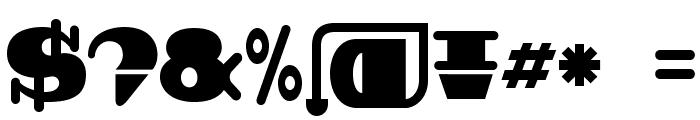 BDBroadbandRound Font OTHER CHARS