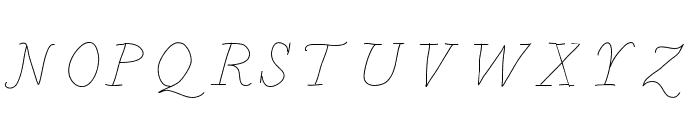 BDCalais Font UPPERCASE