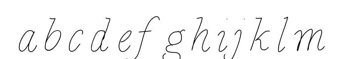 BDCalais Font LOWERCASE