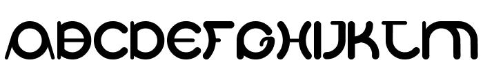 BDElAutobus Font UPPERCASE