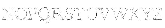 BDGrenoble Font UPPERCASE