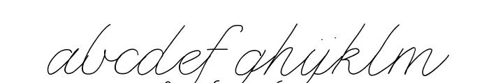 BDMarseille Font LOWERCASE