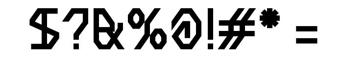 BDMeter Font OTHER CHARS