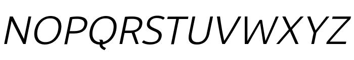 BDP Clien Italic Font UPPERCASE
