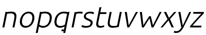 BDP Clien Italic Font LOWERCASE