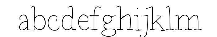 BDParisDemo Font LOWERCASE