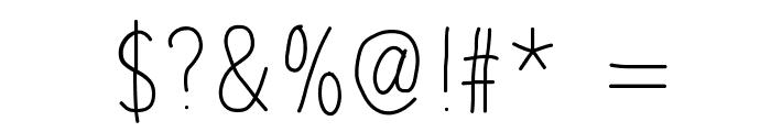 BDRouen Font OTHER CHARS